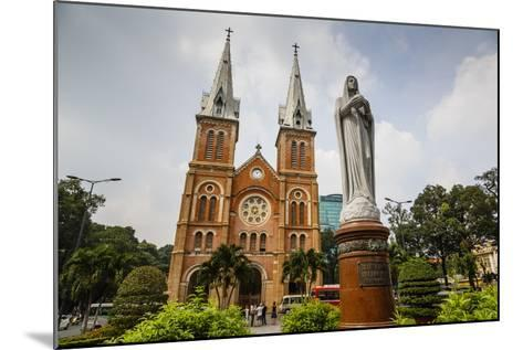 Notre Dame Cathedral, Ho Chi Minh City (Saigon), Vietnam, Indochina, Southeast Asia, Asia-Yadid Levy-Mounted Photographic Print