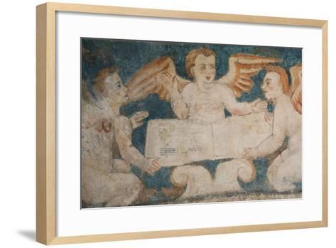 Close-Up of 16th Century Frescoes-Richard Maschmeyer-Framed Art Print