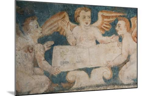 Close-Up of 16th Century Frescoes-Richard Maschmeyer-Mounted Photographic Print