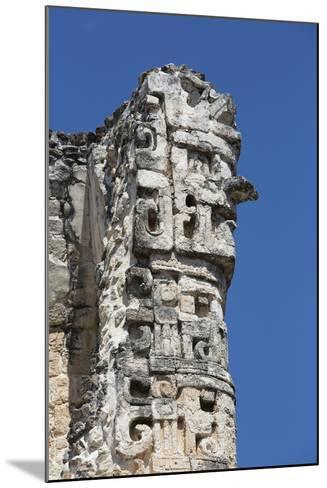 Chac Rain God, Dzibilnocac (Painted Vault) Temple, Dzibilnocac-Richard Maschmeyer-Mounted Photographic Print