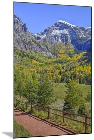 Fall Colours, Telluride, Western San Juan Mountains in the Background-Richard Maschmeyer-Mounted Photographic Print