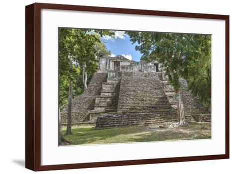Structure 6, Kohunlich, Mayan Archaeological Site, Quintana Roo, Mexico, North America-Richard Maschmeyer-Framed Art Print