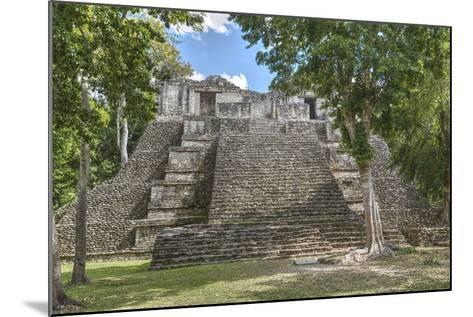 Structure 6, Kohunlich, Mayan Archaeological Site, Quintana Roo, Mexico, North America-Richard Maschmeyer-Mounted Photographic Print