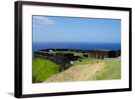 Brimstone Hill Fortress, St. Kitts, St. Kitts and Nevis-Robert Harding-Framed Art Print