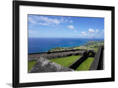 Brimstone Hill Fortress, St. Kitts, St. Kitts and Nevis-Robert Harding-Framed Art Print