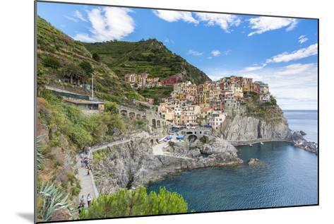 Manarola, Cinque Terre, UNESCO World Heritage Site, Liguria, Italy, Europe-Gavin Hellier-Mounted Photographic Print