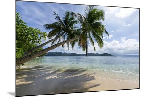 Tropical Island Beach at Matangi Island Resort, Vanua Levu, Fiji, Pacific-Louise Murray-Mounted Photographic Print