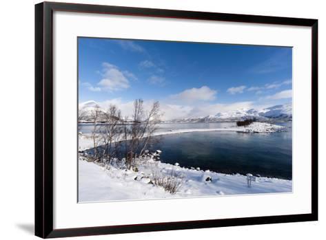 A Fjord Near Lodingen, Nordland, Arctic, Norway, Scandinavia-Sergio Pitamitz-Framed Art Print