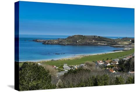 View over Alderney, Channel Islands, United Kingdom-Michael Runkel-Stretched Canvas Print