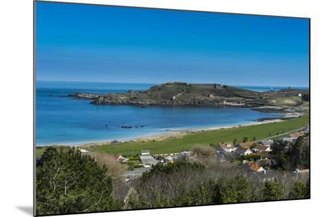 View over Alderney, Channel Islands, United Kingdom-Michael Runkel-Mounted Photographic Print