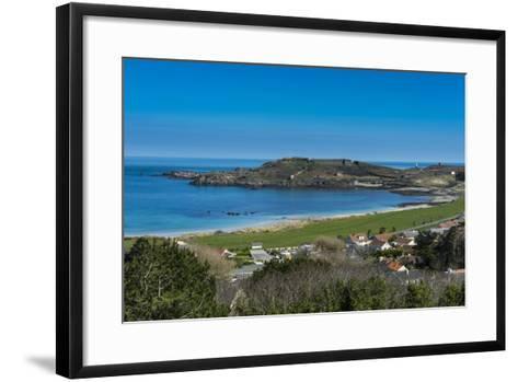 View over Alderney, Channel Islands, United Kingdom-Michael Runkel-Framed Art Print