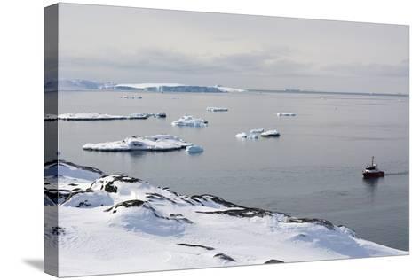 A Bay Near Ilulissat, Greenland, Denmark, Polar Regions-Sergio Pitamitz-Stretched Canvas Print