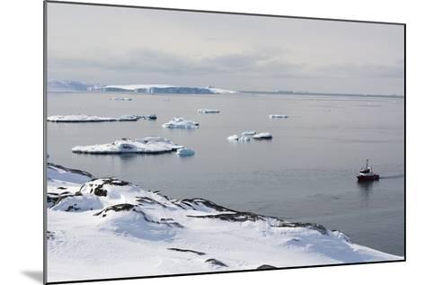A Bay Near Ilulissat, Greenland, Denmark, Polar Regions-Sergio Pitamitz-Mounted Photographic Print