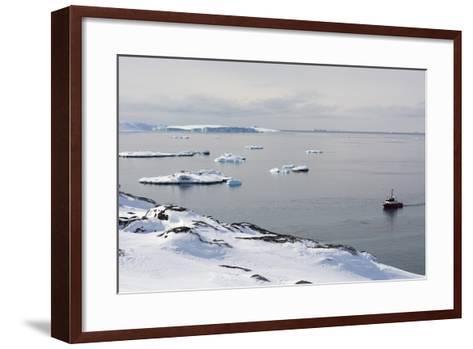 A Bay Near Ilulissat, Greenland, Denmark, Polar Regions-Sergio Pitamitz-Framed Art Print