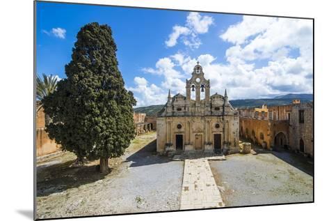 Historical Arkadi Monastery, Crete, Greek Islands, Greece-Michael Runkel-Mounted Photographic Print
