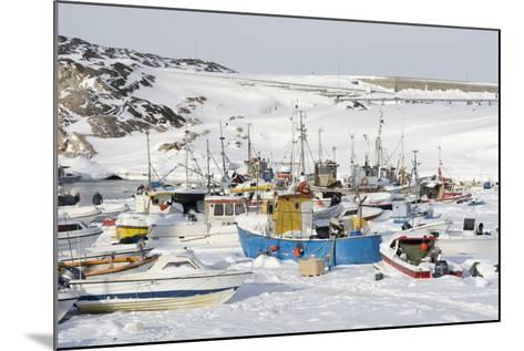 Ilulissat Harbour, Greenland, Denmark, Polar Regions-Sergio Pitamitz-Mounted Photographic Print