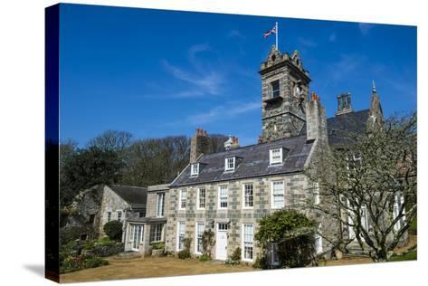 La Seigneurie House and Gardens, Sark, Channel Islands, United Kingdom-Michael Runkel-Stretched Canvas Print