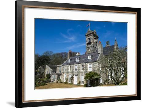 La Seigneurie House and Gardens, Sark, Channel Islands, United Kingdom-Michael Runkel-Framed Art Print