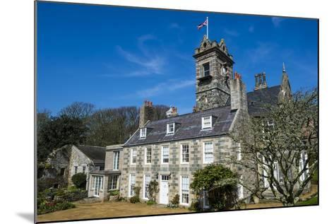 La Seigneurie House and Gardens, Sark, Channel Islands, United Kingdom-Michael Runkel-Mounted Photographic Print
