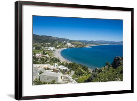 The Bay of Theotokos, Lindos, Rhodes, Dodecanese Islands, Greek Islands, Greece-Michael Runkel-Framed Art Print