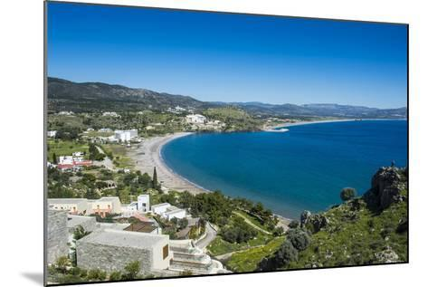 The Bay of Theotokos, Lindos, Rhodes, Dodecanese Islands, Greek Islands, Greece-Michael Runkel-Mounted Photographic Print