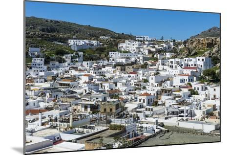 Lindos, Rhodes, Dodecanese Islands, Greek Islands, Greece, Europe-Michael Runkel-Mounted Photographic Print