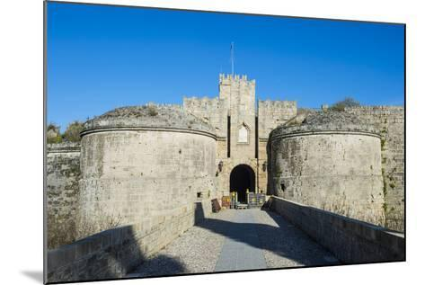 Gate D'Amboise, the Medieval Old Town, City of Rhodes-Michael Runkel-Mounted Photographic Print