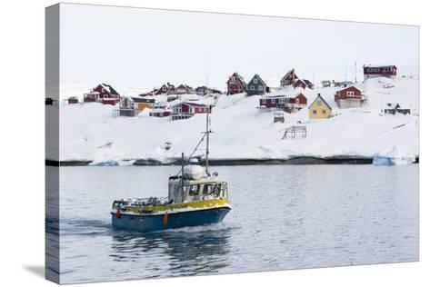 Ilulissat, Greenland,Denmark, Polar Regions-Sergio Pitamitz-Stretched Canvas Print