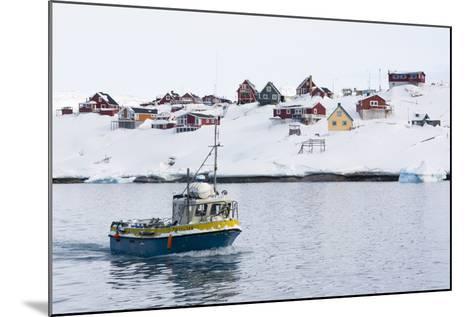 Ilulissat, Greenland,Denmark, Polar Regions-Sergio Pitamitz-Mounted Photographic Print