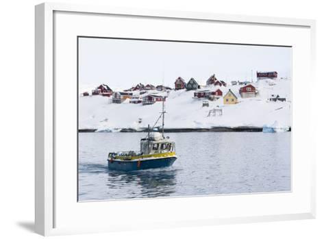 Ilulissat, Greenland,Denmark, Polar Regions-Sergio Pitamitz-Framed Art Print