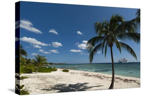 Spotts Beach, Grand Cayman, Cayman Islands, West Indies, Caribbean, Central America-Sergio Pitamitz-Stretched Canvas Print