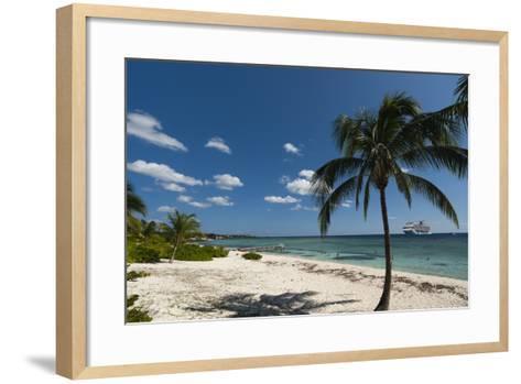 Spotts Beach, Grand Cayman, Cayman Islands, West Indies, Caribbean, Central America-Sergio Pitamitz-Framed Art Print