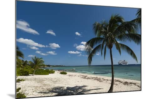Spotts Beach, Grand Cayman, Cayman Islands, West Indies, Caribbean, Central America-Sergio Pitamitz-Mounted Photographic Print