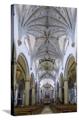 The Manueline and Portuguese Baroque Cathedral Church of Our Lady of the Assumption-Alex Robinson-Stretched Canvas Print