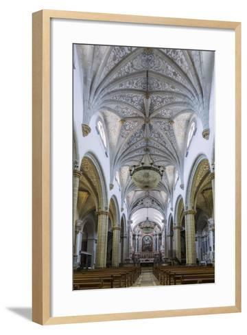 The Manueline and Portuguese Baroque Cathedral Church of Our Lady of the Assumption-Alex Robinson-Framed Art Print