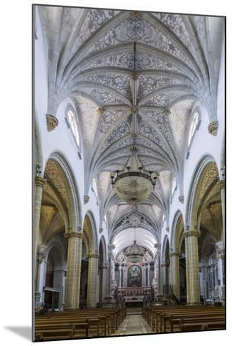 The Manueline and Portuguese Baroque Cathedral Church of Our Lady of the Assumption-Alex Robinson-Mounted Photographic Print