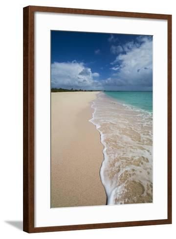 Pink Sand Beach Is Located on the Southwest Coast of the Small Island of Barbuda-Roberto Moiola-Framed Art Print