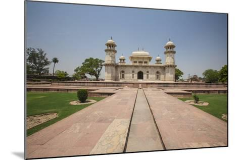 A Footpath Leads to the Sandstone Mausoleum of the Moghul Emperor Humayun-Roberto Moiola-Mounted Photographic Print