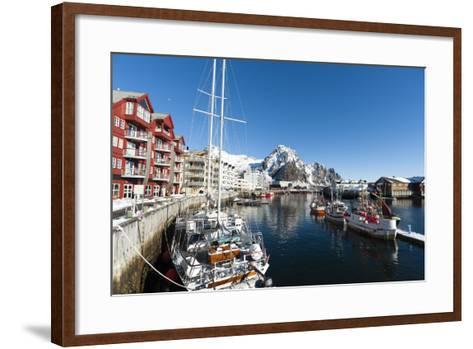 Svolvaer, Lofoten Islands, Nordland, Arctic, Norway, Scandinavia-Sergio Pitamitz-Framed Art Print