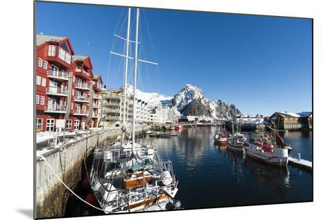 Svolvaer, Lofoten Islands, Nordland, Arctic, Norway, Scandinavia-Sergio Pitamitz-Mounted Photographic Print