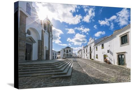 The Centre of the Medieval Town of Monsaraz, Alentejo, Portugal, Europe-Alex Robinson-Stretched Canvas Print