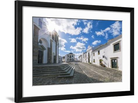 The Centre of the Medieval Town of Monsaraz, Alentejo, Portugal, Europe-Alex Robinson-Framed Art Print