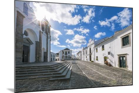 The Centre of the Medieval Town of Monsaraz, Alentejo, Portugal, Europe-Alex Robinson-Mounted Photographic Print
