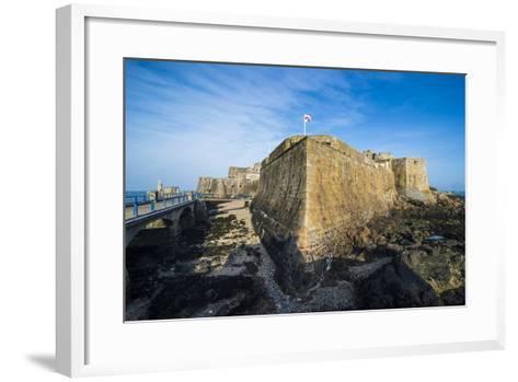 Cornet Castle, Saint Peter Port, Guernsey, Channel Islands, United Kingdom-Michael Runkel-Framed Art Print