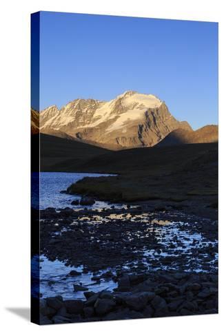 View of Colle Del Nivolet, Gran Paradiso National Park, Alpi Graie (Graian Alps), Italy-Roberto Moiola-Stretched Canvas Print