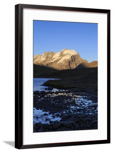 View of Colle Del Nivolet, Gran Paradiso National Park, Alpi Graie (Graian Alps), Italy-Roberto Moiola-Framed Art Print