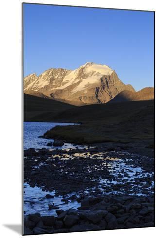 View of Colle Del Nivolet, Gran Paradiso National Park, Alpi Graie (Graian Alps), Italy-Roberto Moiola-Mounted Photographic Print