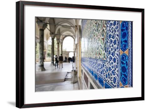 Interior of Topkapi Palace, Sultanahmet, Istanbul, Turkey-Ben Pipe-Framed Art Print