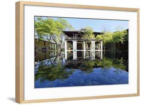 Anantara Hotel and Spa, Chiang Mai, Lanna, Thailand, Southeast Asia, Asia-Alex Robinson-Framed Art Print