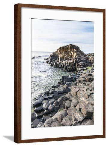The Giants Causeway, County Antrim, Ulster, Northern Ireland, United Kingdom-Michael Runkel-Framed Art Print